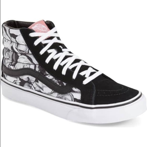 c99c527da5 ... Vans Sk8-Hi Slim - Digi Roses Sneaker. M 5b72448310fc54073d41dea8